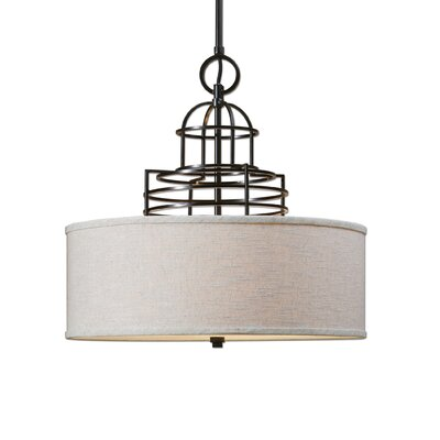 Cupola 4-Light Drum Pendant