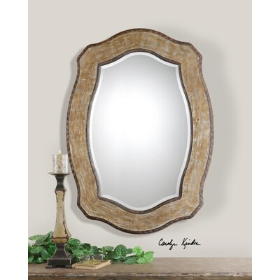 Liveri Mirror in Antique Hickory