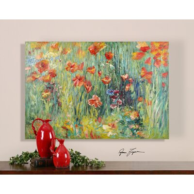 Floral Pathway Canvas Wall Art By Grace Feyock - 40