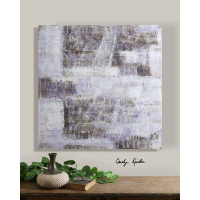 Lavender Story Canvas Wall Art By Carolyn Kinder - 40
