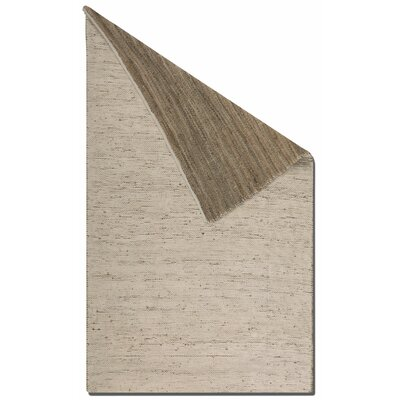 Barhara Reversible Natural Area Rug Rug Size: 5 x 8