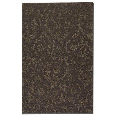 Licata Dark Chocolate Rug Rug Size: 5 x 8