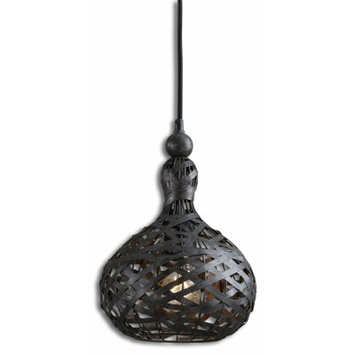 Alita Industrial 1-Light Mini Pendant