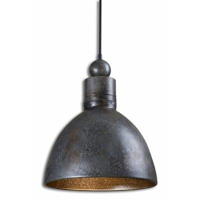 Adelino 1-Light Bowl Pendant