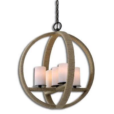 Gironico Round 5-Light Mini Pendant