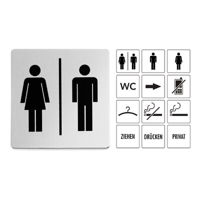 Indici Information Sign Woman or Men