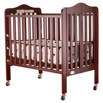 Tina Portable Convertible Crib Finish: Cherry 1122C