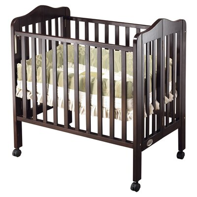 Tina Portable Convertible Crib Finish: Espresso 1122ES