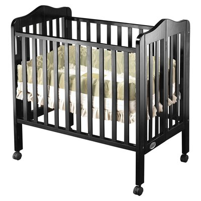 Tina Portable Convertible Crib Finish: Black 1122BK
