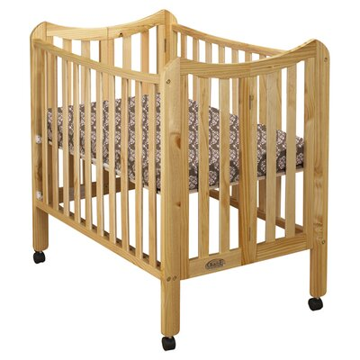 Tian Portable Convertible Crib Finish: Natural 1144N