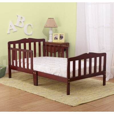 Contemporary Toddler Bed Color: Cherry