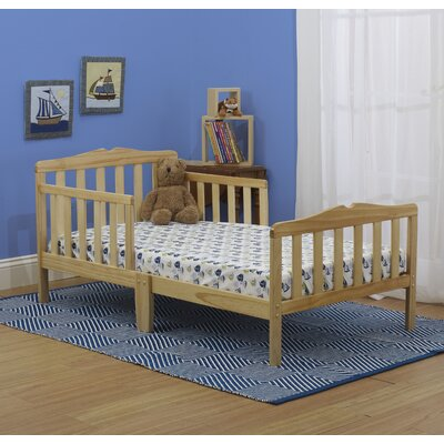 Contemporary Toddler Bed Color: Natural