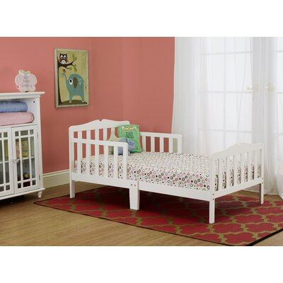 Contemporary Toddler Bed Color: White