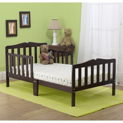 Contemporary Toddler Bed Color: Espresso