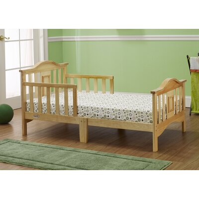 Contemporary Convertible Toddler Bed Color: Natural