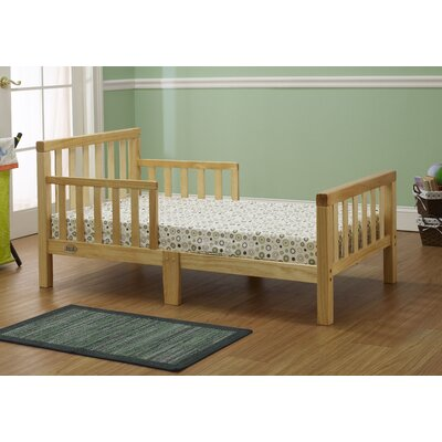 Extra Thick Convertible Toddler Bed Color: Natural