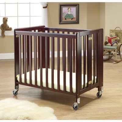 Lilly Commercially Rated Portable Crib Finish: Chestnut 1188C