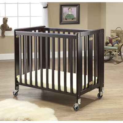 Lilly Commercially Rated Portable Crib Finish: Espresso 1188E