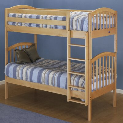 Classic Twin Bunk Bed Finish: Natural