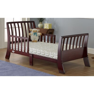 Open Aire Convertible Toddler Bed Color: Cherry