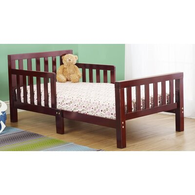 Extra Thick Convertible Toddler Bed Color: Cherry