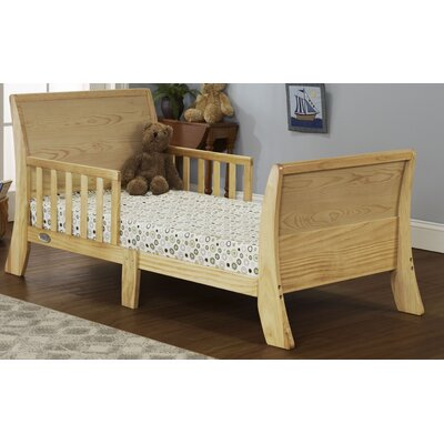 Louis Philippe Convertible Toddler Bed Color: Natural