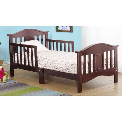 Contemporary Convertible Toddler Bed Color: Cherry