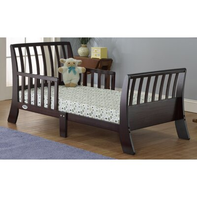 Open Aire Convertible Toddler Bed Color: Espresso