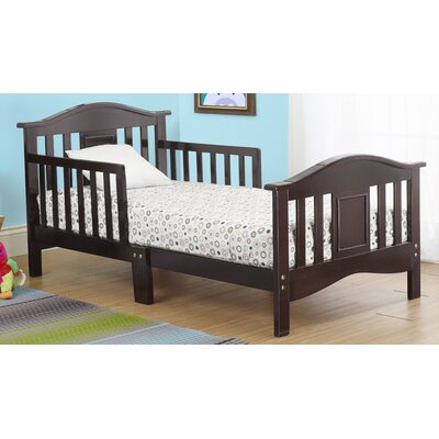 Contemporary Convertible Toddler Bed Color: Espresso