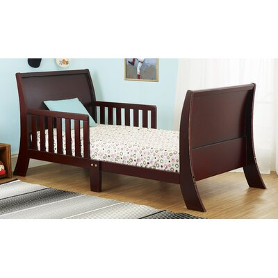 Louis Philippe Convertible Toddler Bed Color: Cherry