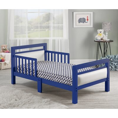Cambridge Toddler Platform Bed Color: Blue