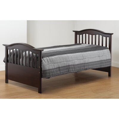 Twin Slat Bed Finish: Cherry