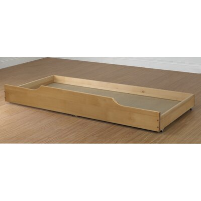 Trundle Storage / Bed Drawer Color: Natural