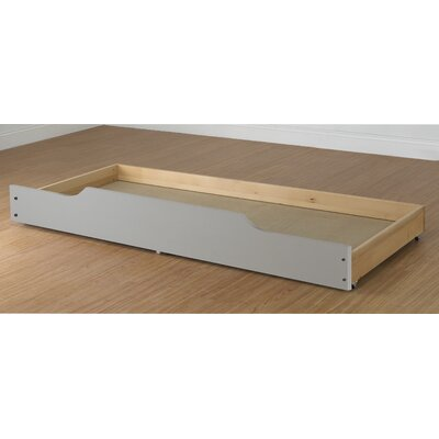 Trundle Storage / Bed Drawer Finish: White