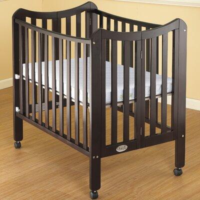 Tian Portable Convertible Crib Finish: Espresso 1144ES