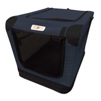Soft Pet Carrier Size: Large (36 H x 24 W x 23 D), Color: Navy