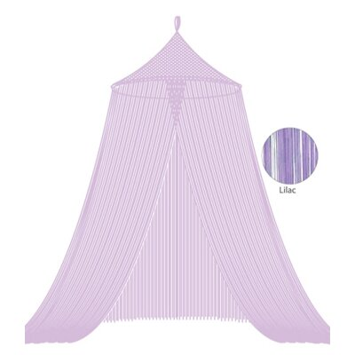 String Bed Canopy Color: Lilac