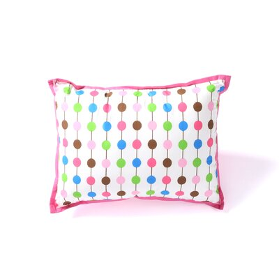 Botanical Sanctuary String Decorative Cotton Boudoir/Breakfast Pillow Color: Pink