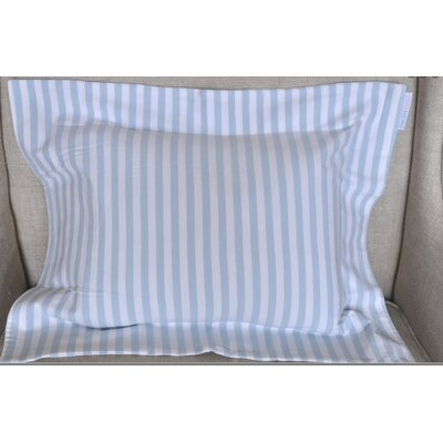 Jersey Knit Boys Stripes Cotton Boudoir/Breakfast Pillow Color: Yellow and White