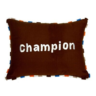 Mod Sports Decorative Cotton Throw Pillow