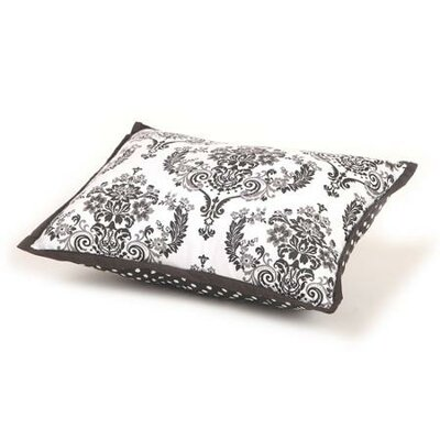 Classic Damask Decorative Cotton Boudoir/Breakfast Pillow