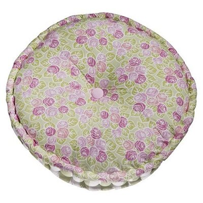 Flower Basket Cotton Floor Pillow