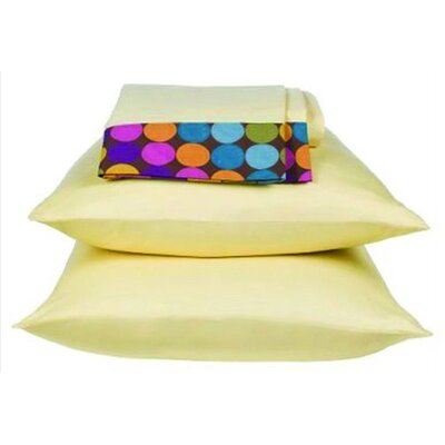 Dots and Stripes 200 Thread Count Spice Sheet Set Size: Twin