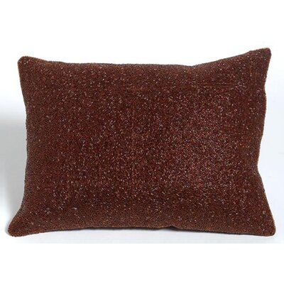 Beaded Decorative Lumbar Pillow