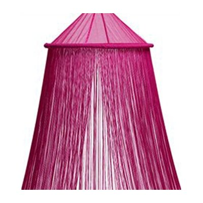 String Bed Canopy Color: Fuchsia