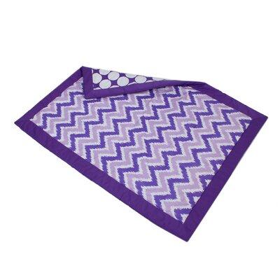 Mix N Match Dots Comforter Color: Purple