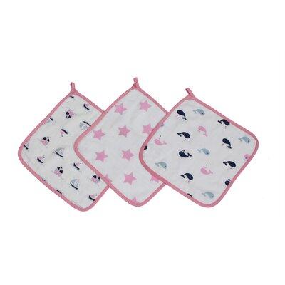 Kaylynn Boats / Whales Wash Cloths Towel