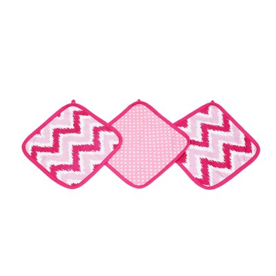 Mix N Match Wash Cloth Color: Pink