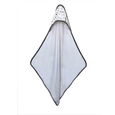 Football Muslin Hooded Towel