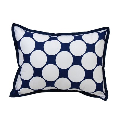 Mix N Match Dec Cotton Throw Pillow Color: Blue